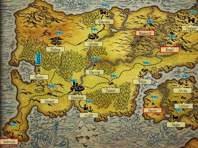 mappa città battleknight item migliori